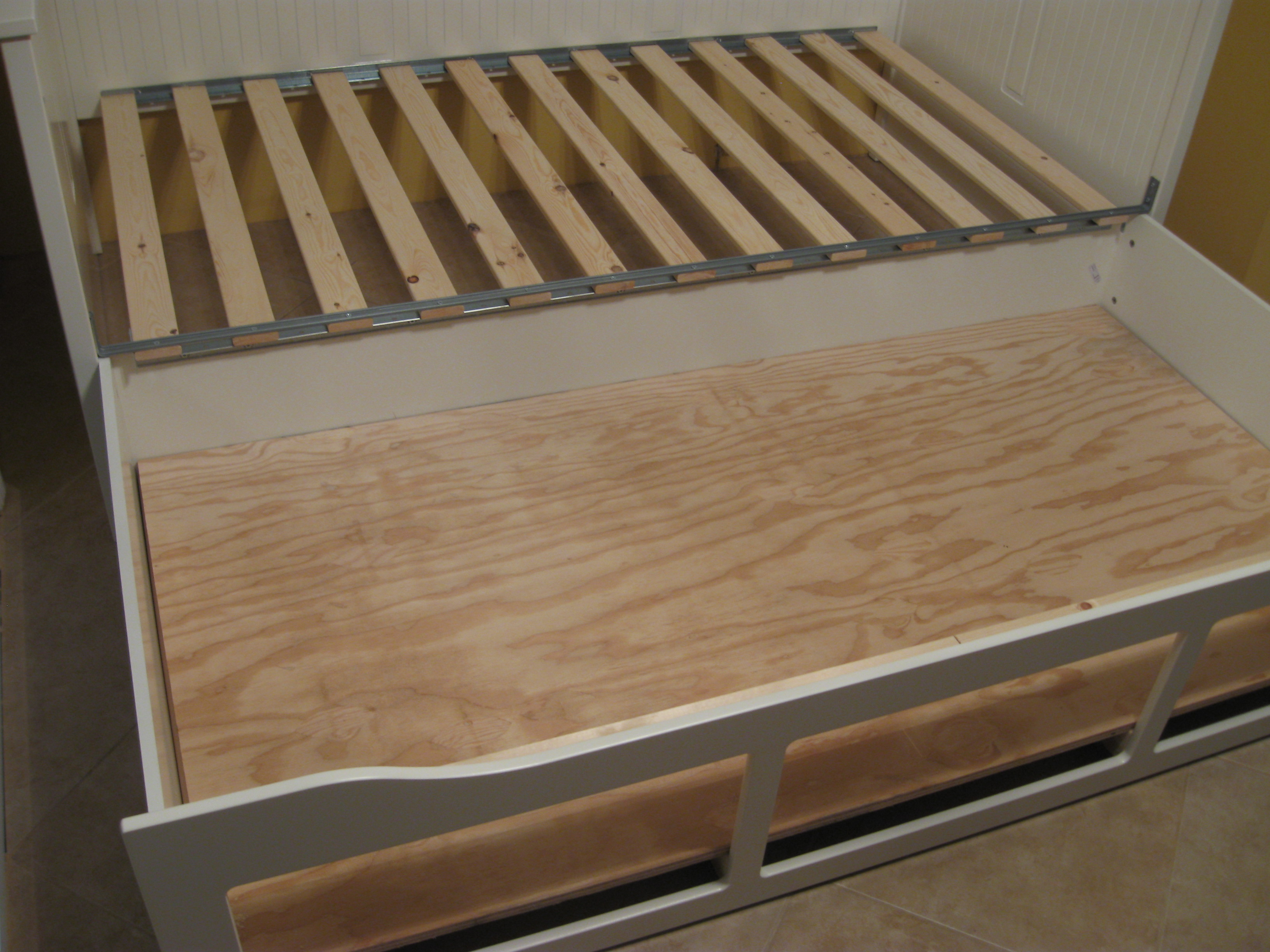 Ikea Hack Alert…Bench seating and dog bed