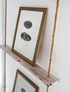 ikea hack hanging rope shelves inspiration