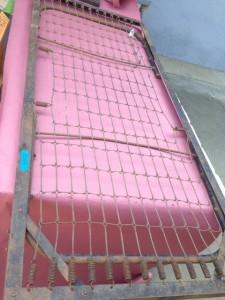 antique cot meditation bench platform outdoor dog bed 001