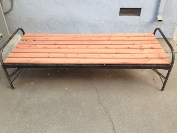 antique cot meditation bench platform outdoor dog bed 007