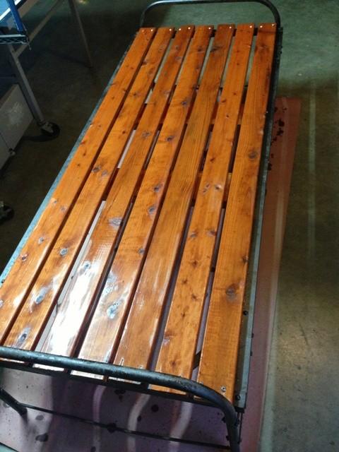 antique cot meditation bench platform outdoor dog bed 011