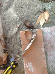 Dog proof drip line soaker house 009