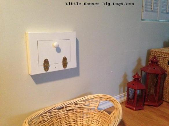 Diy Mail Slot Cover Littlehousesbigdogs