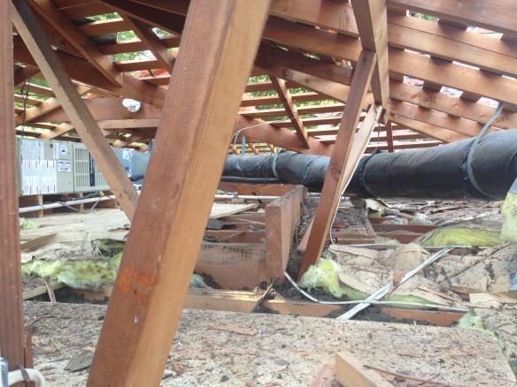 Roof installation 011
