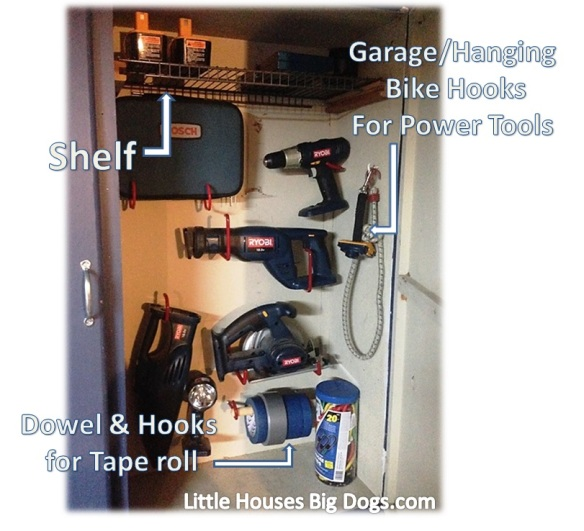 organize tool cabinet diy power tool storage (25)
