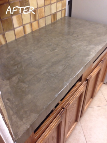 Exceptional Laying Encore Concrete Countertops Over Tile